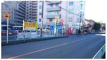 本川越駅方面から車でのアクセス3