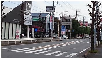 県道日高川越線方面から車でのアクセス2