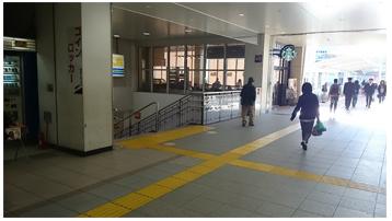 電車でのアクセス3